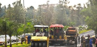 Major road project in Rwandan city of Kigali well on course