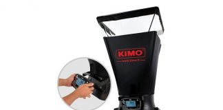 French manufacturer, Kimo introduces Portable Airflow Meter