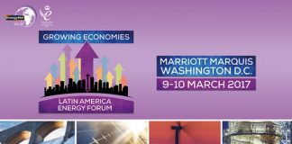 Governments of Latin America to discuss investment opportunities for energy projects –Washington, D.C March 2017