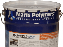 Maris Polymers S.A. has unveiled its new MARISEAL SYSTEM waterproofing membrane