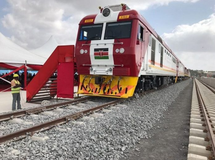 The first batch of the freight locomotives for Kenya's SGR project has arrived in the country ready for testing process later.