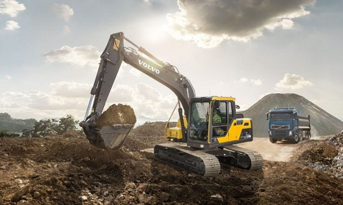 Volvo introduces new excavator in Middle East and Africa