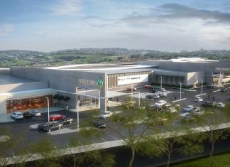 Construction of South Africa's Ballito Junction Regional Mall almost complete