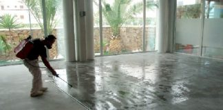 Concrete Surface Treatment