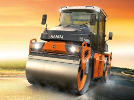 Hamm Launches New Asphalt Roller Line with DV+ 70i VO-S