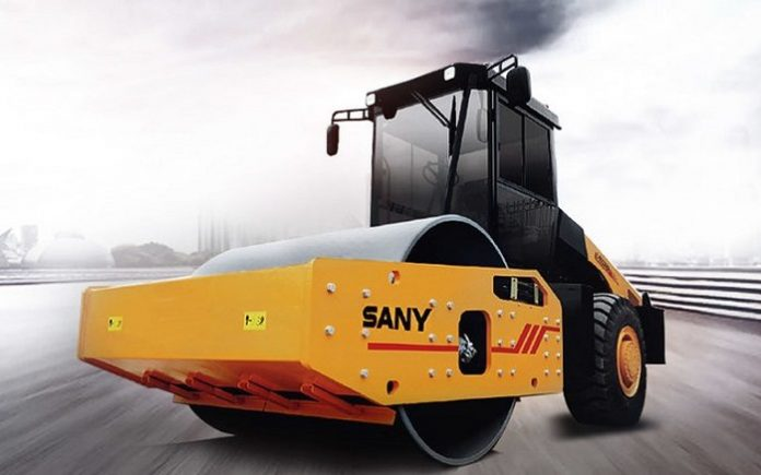 SANY launches 20 ton and 22 ton hydraulic single drum rollers