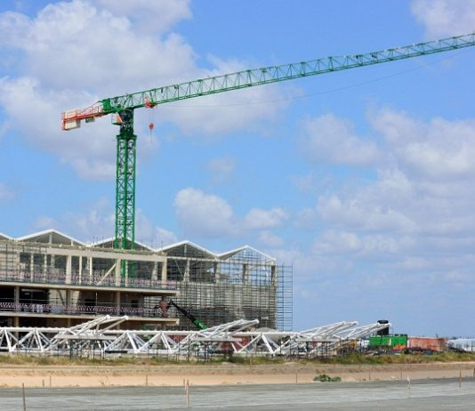 Construction of major airport Terminal in Tanzania well on course