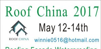 The 7th China (Guangzhou)International Roof, Facade,Waterproofing Exhibition 2017 Roof China 2017