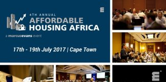 4th Annual Affordable Housing Africa | 17th – 19th July 2017 | Cape Town, South Africa