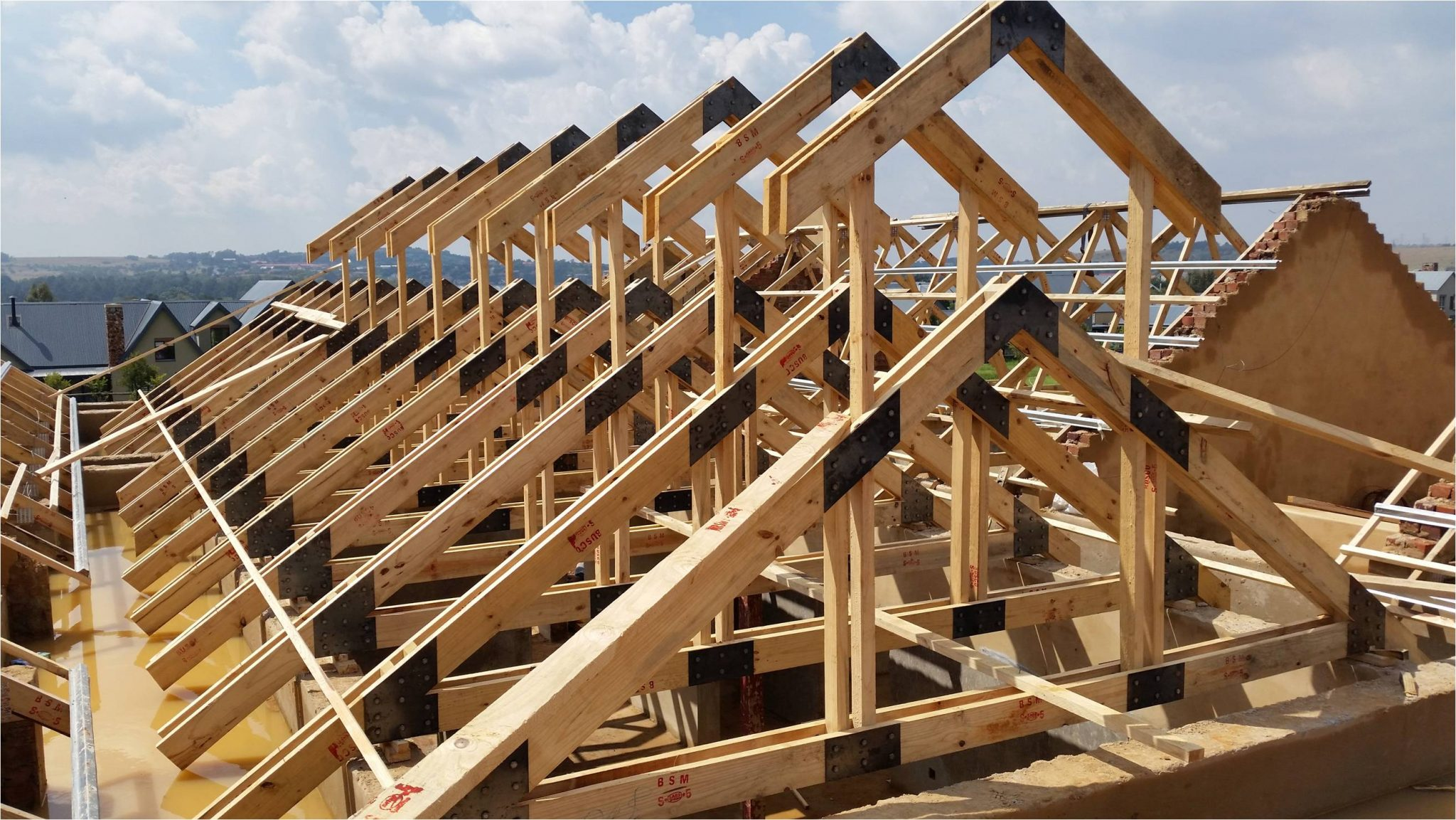 Institute for timber construction south africa compliant for House roof construction