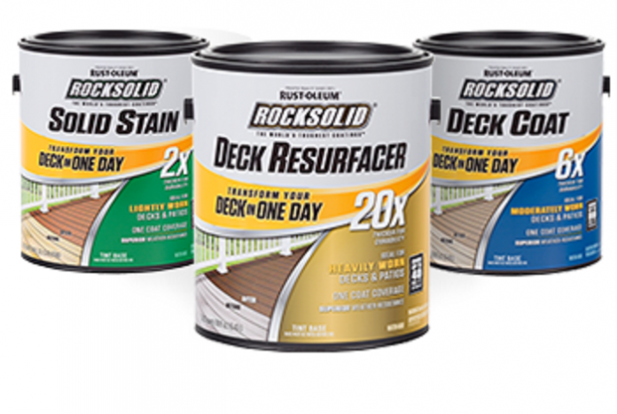 Rust-Oleum to roll out a new line of deck coatings