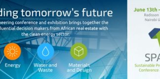 The inaugural SPACE event (Sustainable Properties Africa) will be held at the Radisson Blu Hotel, Upper Hill in Nairobi on 13-14 June 2017.