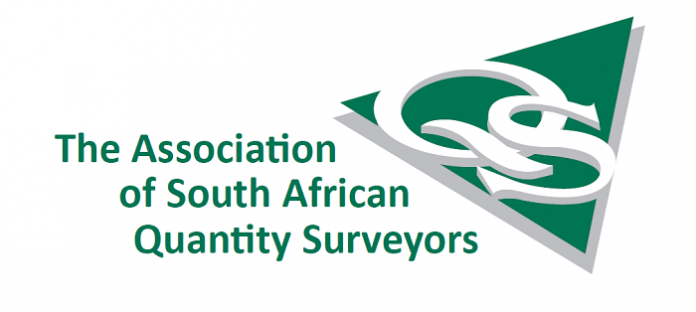 Registration requirement of the Association of South African Quantity Surveyors