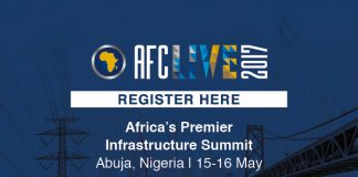 Join AFC Live 2017 – Africa's Premier Infrastructure Summit