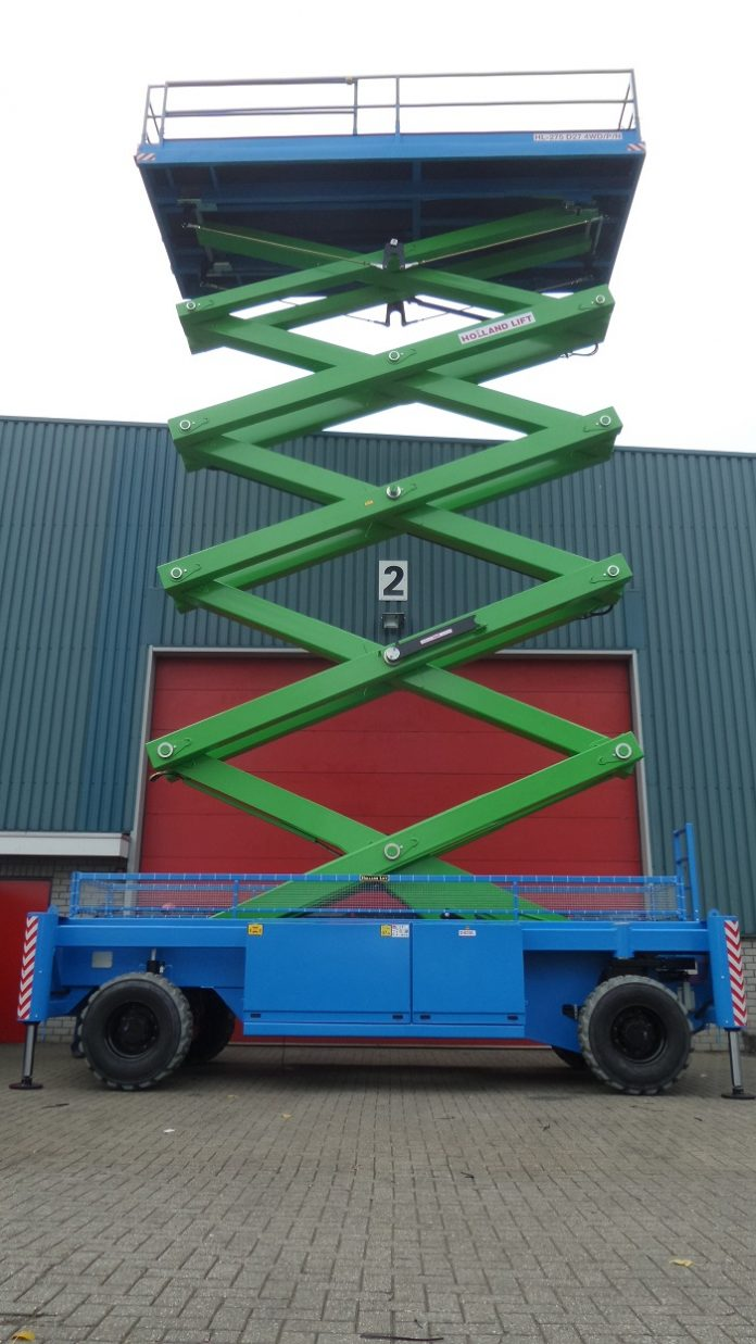 Goscor Access Rental launches Africa's largest Scissor Lift