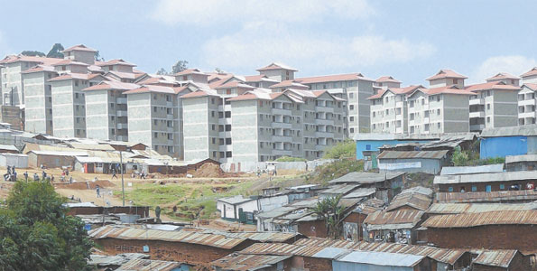 Two million houses needed in Kenya to tame slum explosion