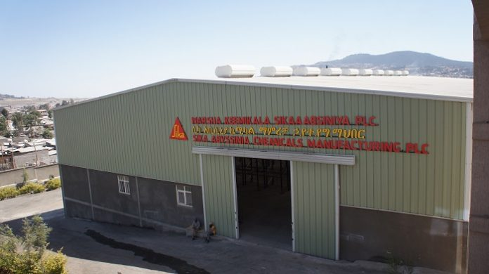 Sika opens new concrete admixture production facility in Ethiopia