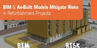 BIM & As-Built Models Mitigate Risks in Refurbishment Projects
