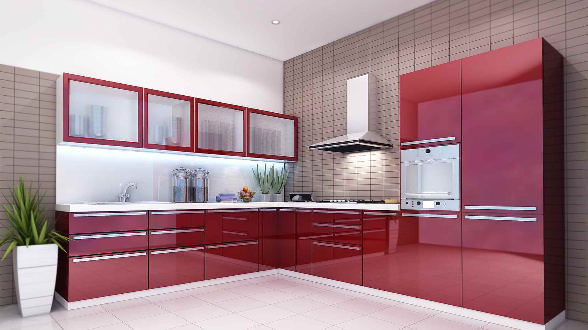 having a modern kitchen
