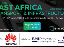 4th Annual East Africa Transport and Infrastructure Projects