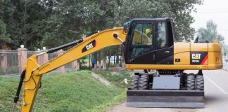 Caterpillar launches new M315D2 and M317D2 wheeled excavators