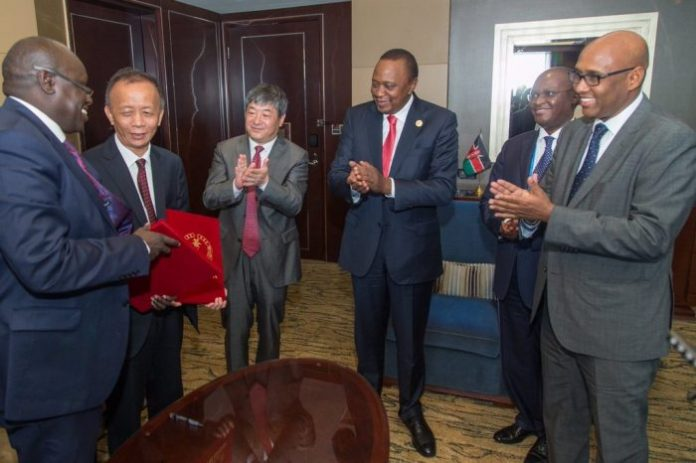 Chinese firm signs $1.94b deal for construction of industrial park in Kenya
