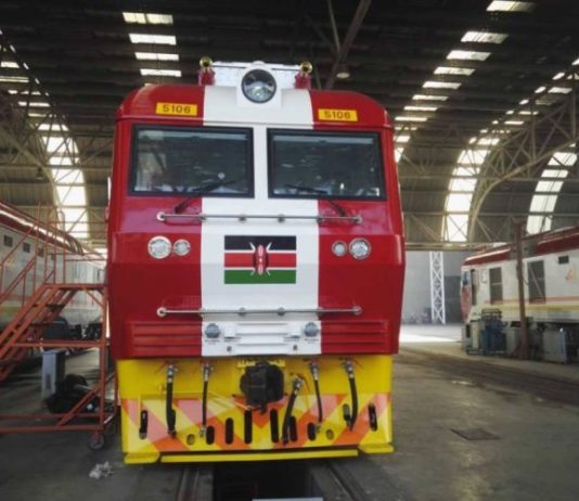 Kenya Standard gauge railway set for launch at the end of May