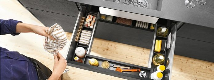Blum; Practical ideas for creating even more storage space