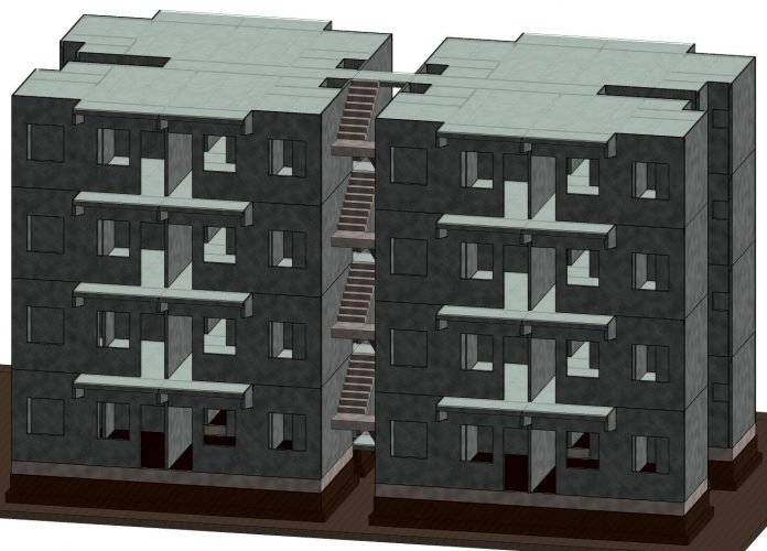 Elematic's affordable housing solutions using prefabrication
