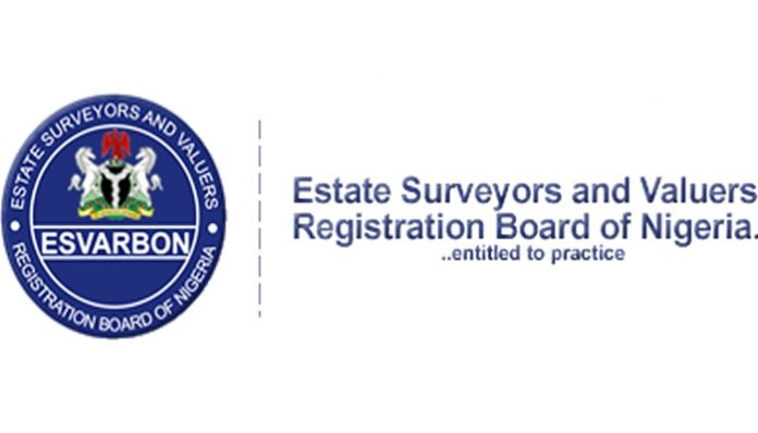 How to register with Estate Surveyors and Valuers Registration Board of Nigeria