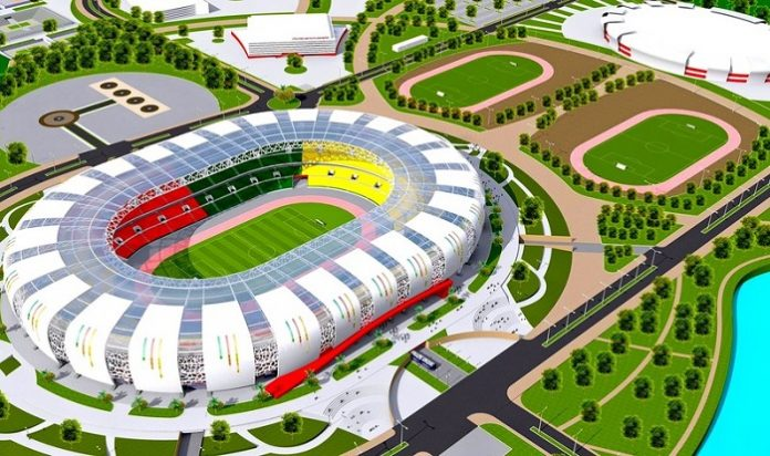 Construction begins at Olembe sports complex in Cameroon