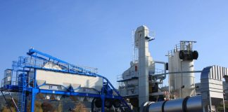 Asphalt mixing plant: From hot to warm mixing
