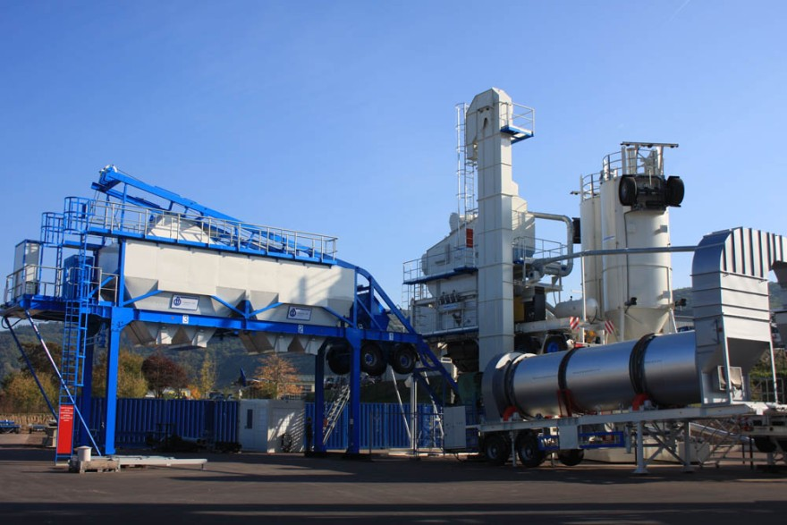 Asphalt Mixing Plant From Hot To Warm Mixing