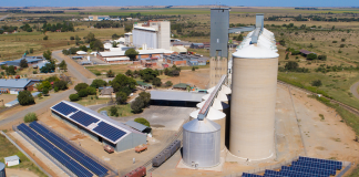 Solar PV for Hennenman silo in South Africa