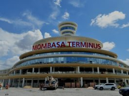 Road built to ease traffic congestion at SGR stations in Kenya