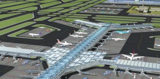 Artistic design impression of Bugesera International Airport