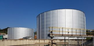 SBS supplies water treatment tanks to Sembcorp Siza Water
