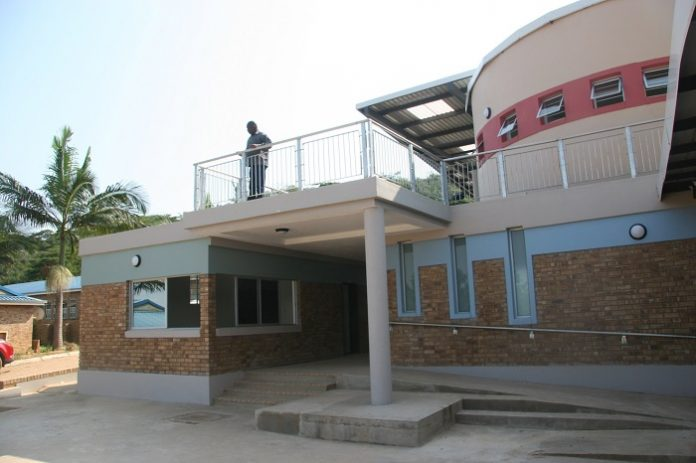 Inspirational learning centre constructed using Corobrik's face brick