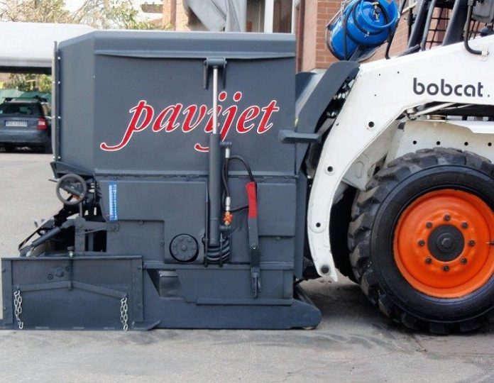 Bobcat Equipment SA launches pothole-busting Pavijet MG7 paver