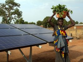 Solar Power ends water woes in Malawian district