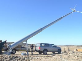 Luderitz wind power project in Namibia is almost complete
