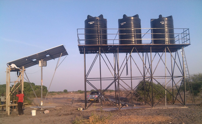 Solar water supply