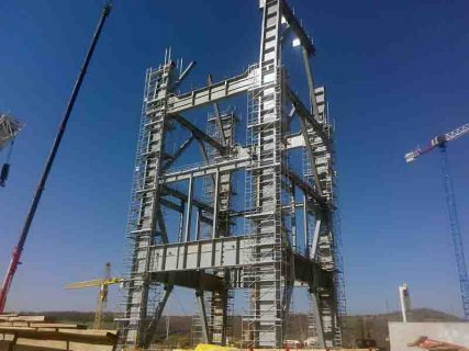 scaffolding and formwork