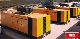 Diesel generators as a form of back-up power for Africa
