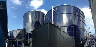 GWE sets environmental standards with new wastewater treatment plant