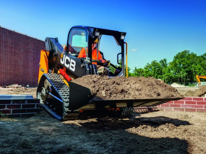 JCB's new 215T compact track loader