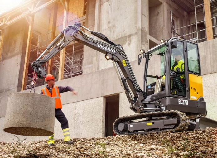 Volvo CE intros EC27D excavator: Short-swing size with more power