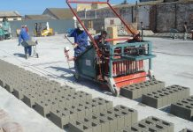 Buying brick and block making machinery