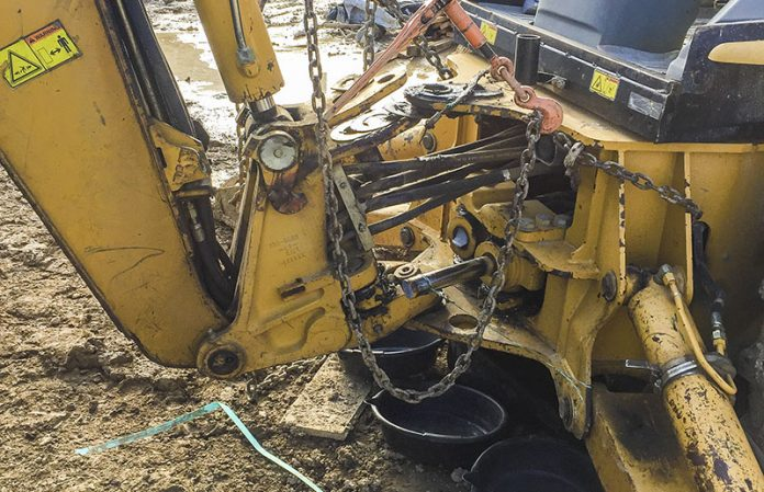 construction machinery downtime