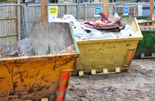 waste management in construction